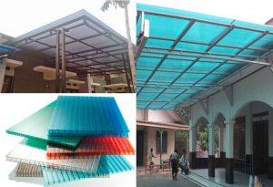 Harga kanopi atap polycarbonate