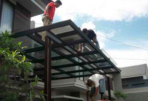 Tips cara pemasangan atap kanopi kaca