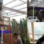 Konstruksi rangka kanopi kaca terbaik