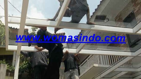 Jasa Pasang Atap Kanopi Kaca